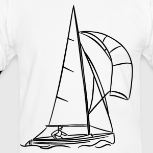 Voilier - Sailing 01 Tee shirts - T-shirt contraste Homme