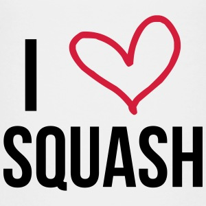 I Love Squash / Sport Shirts - Teenage Premium T-Shirt