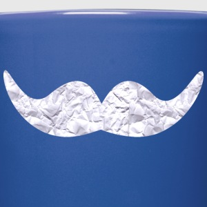 Mustache made of paper Mugs & Drinkware - Full Colour Mug