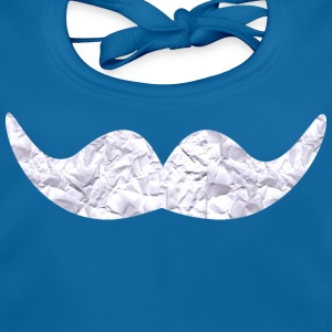 Mustache made of paper Accessories - Baby Organic Bib