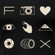 Design ~ Fuji X T-shirt for Women
