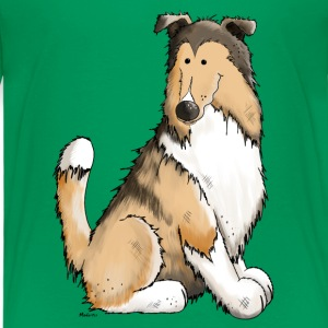 Collie Cleo - Collies Shirts - Kinderen Premium T-shirt