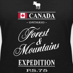 Canada - Ontario T-Shirts - Women's V-Neck T-Shirt
