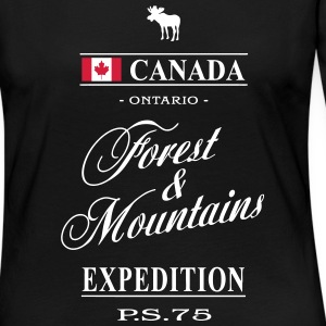 Canada - Ontario Manches longues - T-shirt manches longues Premium Femme