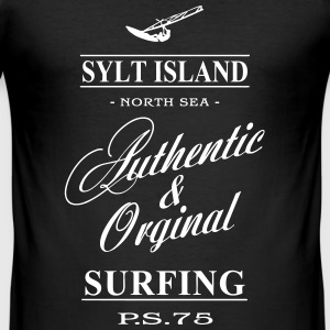 Sylt Surfing T-shirts - Herre Slim Fit T-Shirt