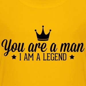 legend1_1f T-Shirts - Teenager Premium T-Shirt