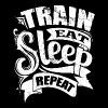 Gym Quotes Train Sports - Men's Premium T-Shirt