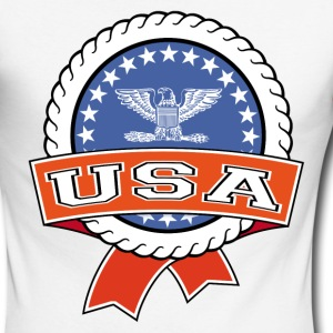 United States 004 Long sleeve shirts - Men's Long Sleeve Baseball T-Shirt