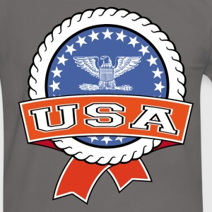 United States 004 T-Shirts - Men's Ringer Shirt