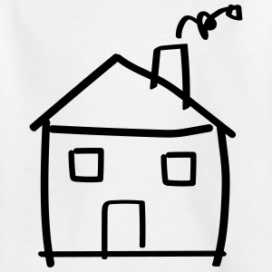 House drawing Skjorter - T-skjorte for barn