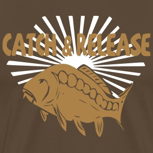 catch and release T-Shirts - Men's Premium T-Shirt