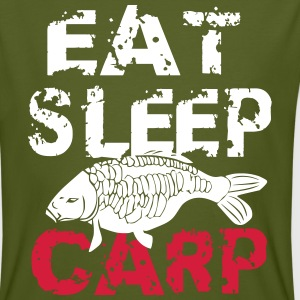 eat sleep carp T-Shirts - Men's Organic T-shirt