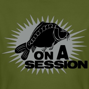 on a session carp T-Shirts - Men's Organic T-shirt