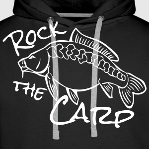 rock the carp Hoodies & Sweatshirts - Men's Premium Hoodie