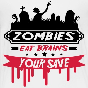 zombie_13_2f T-Shirts - Teenager Premium T-Shirt