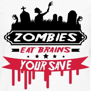 zombie_13_2f Long sleeve shirts - Men's Premium Longsleeve Shirt