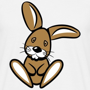 Rabbit sad sweet love T-Shirts - Men's T-Shirt