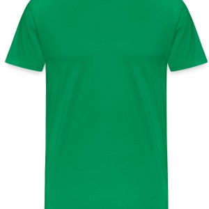Green golfer_3c  Aprons - Men's Premium T-Shirt