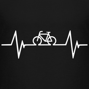 Bicycle Heartbeat Shirts - Kids' Premium T-Shirt