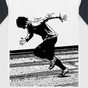 Leichtathletik_Sprint T-Shirts - Kinder Baseball T-Shirt