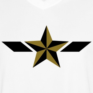 Star, étoile, héros, super, hero, champion gagnant Tee shirts - Maillot de football Homme