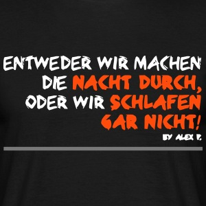 statement T-Shirts - Männer T-Shirt