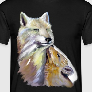 loup polaire - T-shirt Homme