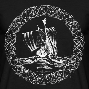 Viking Ship - Männer T-Shirt