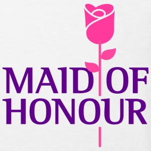 The maid of honor Shirts - Kids' Organic T-shirt