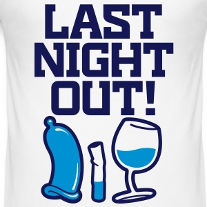 Last night in the neighborhood T-Shirts - Men's Slim Fit T-Shirt