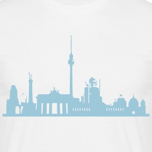Shirt Berlin Skyline - Männer T-Shirt