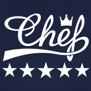 5 Stars Chefs Hat Cook Cooking Cuisine - Baseball Cap