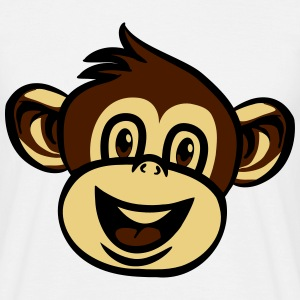 monkey funny love T-Shirts - Men's T-Shirt