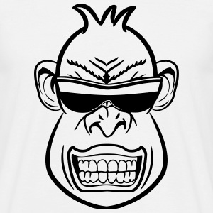 monkey dangerously cool sunglasses T-Shirts - Men's T-Shirt