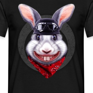 Sort RABBIT RIDER T-shirts - Herre-T-shirt