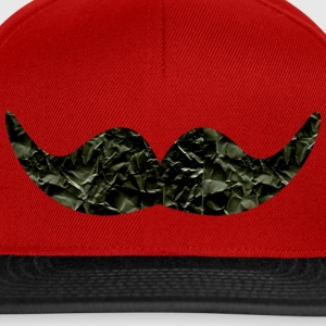 Mustache made of paper (b) Caps & Hats - Snapback Cap