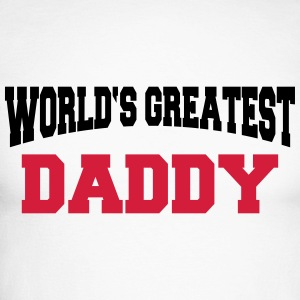 World's greatest Daddy Manches longues - T-shirt baseball manches longues Homme
