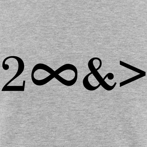 To Infinity and beyond! Bis zur Unendlichkeit...