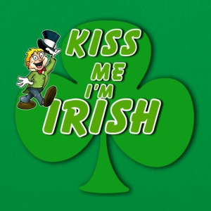 Kiss Me I'm Irish - Tote Bag