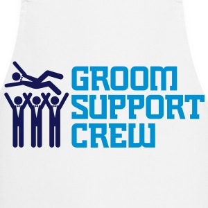 Support Team of the Groom  Aprons - Cooking Apron