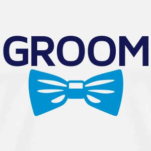 The groom T-Shirts - Men's Premium T-Shirt