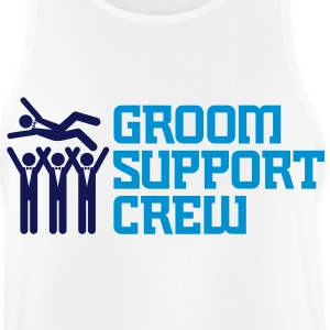 Support Team of the Groom Sports wear - Men's Breathable Tank Top