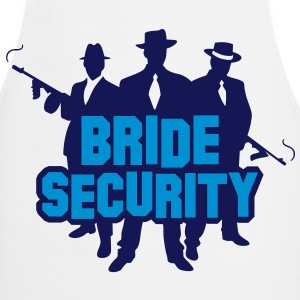 Security Team of the Bride  Aprons - Cooking Apron
