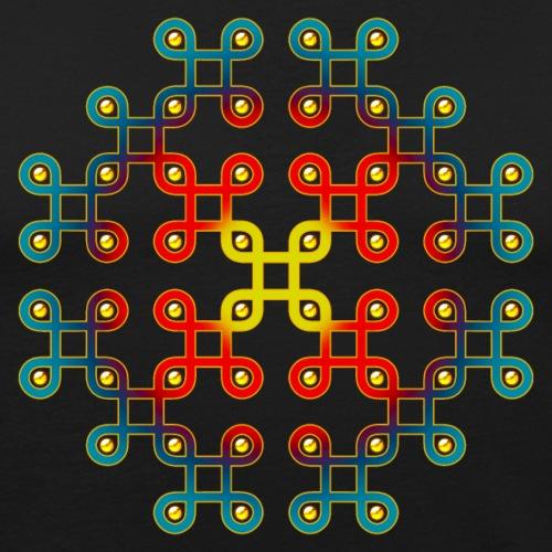 Infinity loop, Endlos Knoten, Ausschnitt Kornkreis