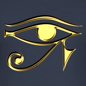 Horus eye, Egypt, protection, magic & strength, T-shirts - Men's Slim Fit T-Shirt