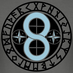 Hex Sign Creation & Materialization, Runes Tee shirts - Tee shirt près du corps Homme
