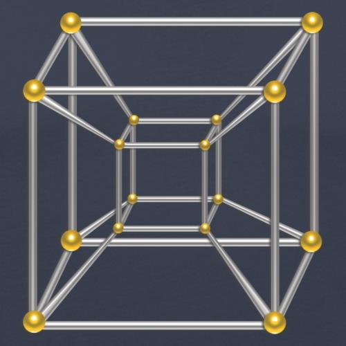 Tesseract, 4D Hypercube, digital, Symbol Dimensio