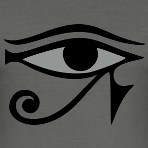 Horus Auge, Schutz Amulett, eye , œil , protection T-skjorter - Slim Fit T-skjorte for menn