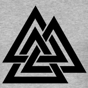Valknut I Wotan's Knot I Walknut I Odin I T-Shirts - Men's Slim Fit T-Shirt