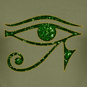 Horus eye,  protection amulet, magic & strength - Men's Slim Fit T-Shirt